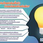 เศรษฐกิจไทยกำลังฟื้นตัว ท่านพร้อมแล้วหรือยัง?